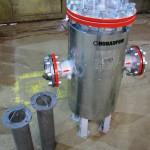 Фильтр жидкостный в теплоизоляции с 2мя зап. ф/элементами