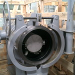 Картридж установлен в корпус фильтра грязеуловителя