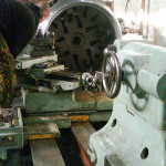 Изготовление приварного фланца для бугельной крышки Ду1000