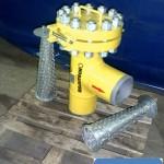 Фильтр конусный угловой под приварку Ду200 Ру16,0 МПа