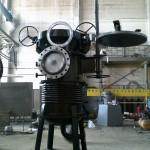 Фильтр СДЖ ст20юч с устройством подъема крышки и фильтроэлемента