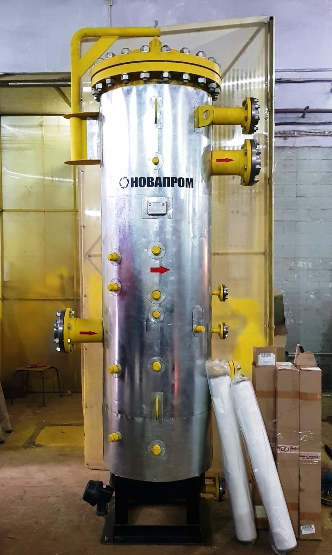 Фильтр-сепаратор-коалесцер DN150 PN16 с 5-ю запасными картриджами