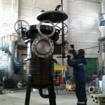 Фильтр жидкостный с крышкой бугельной DN800 PN2.5 MПа