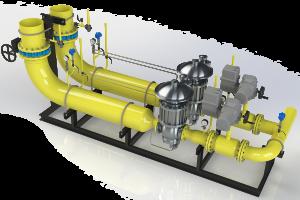 Газорегуляторная установка (ГРУ)