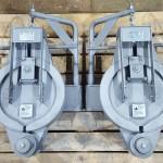 Концевые затворы бугельные для горизонтального трубопровода левого и правого исполнения. Камера запуска Пурнефтегаз